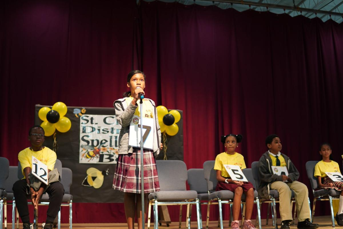 Briana Cruz, second runner up STX Spelling bee
