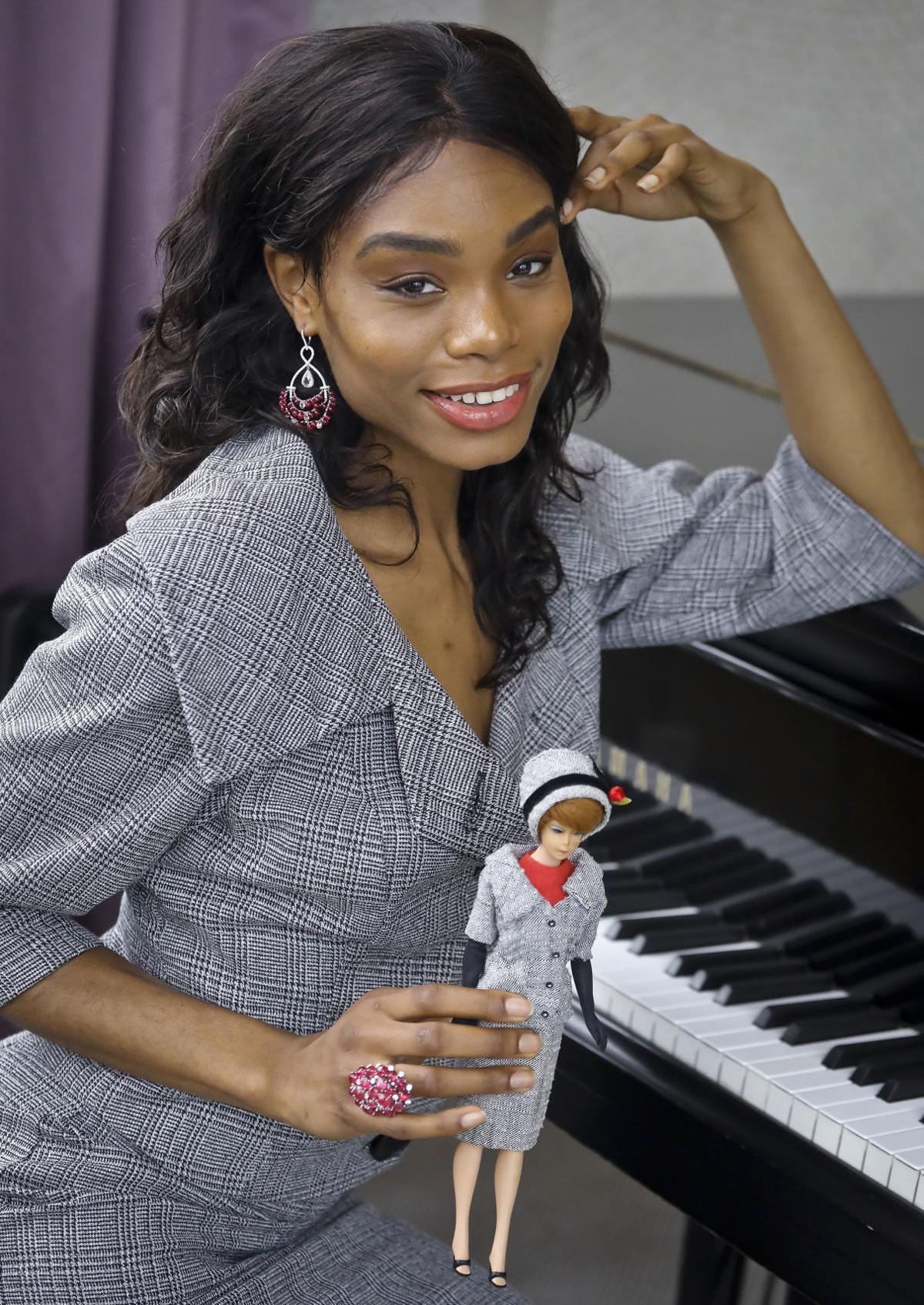 af3b57f1ec6 Iconic Barbie fashion comes alive in vintage collaboration
