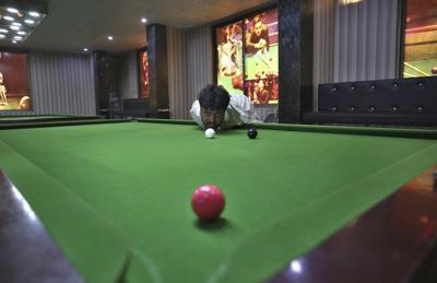 Pakistan Snooker Sensation