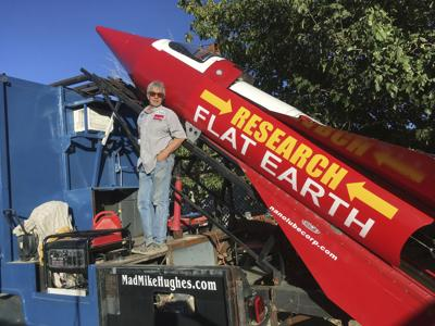 Image result for research flat earth rocket