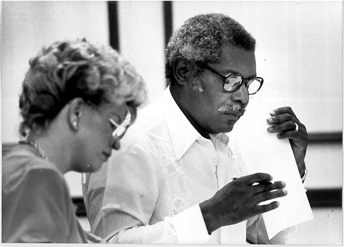 Senator Edgar Iles, 1983