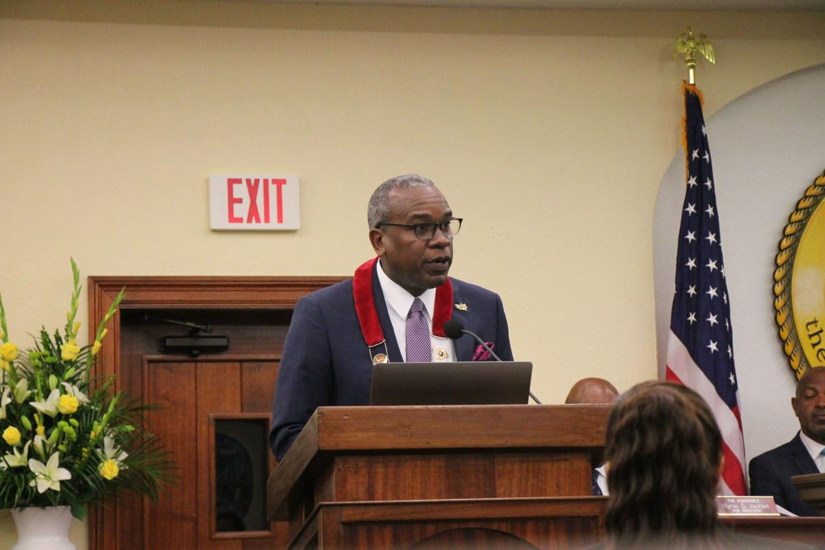 Vi state of the territory address 011420