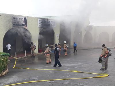 Wheatley Center blaze
