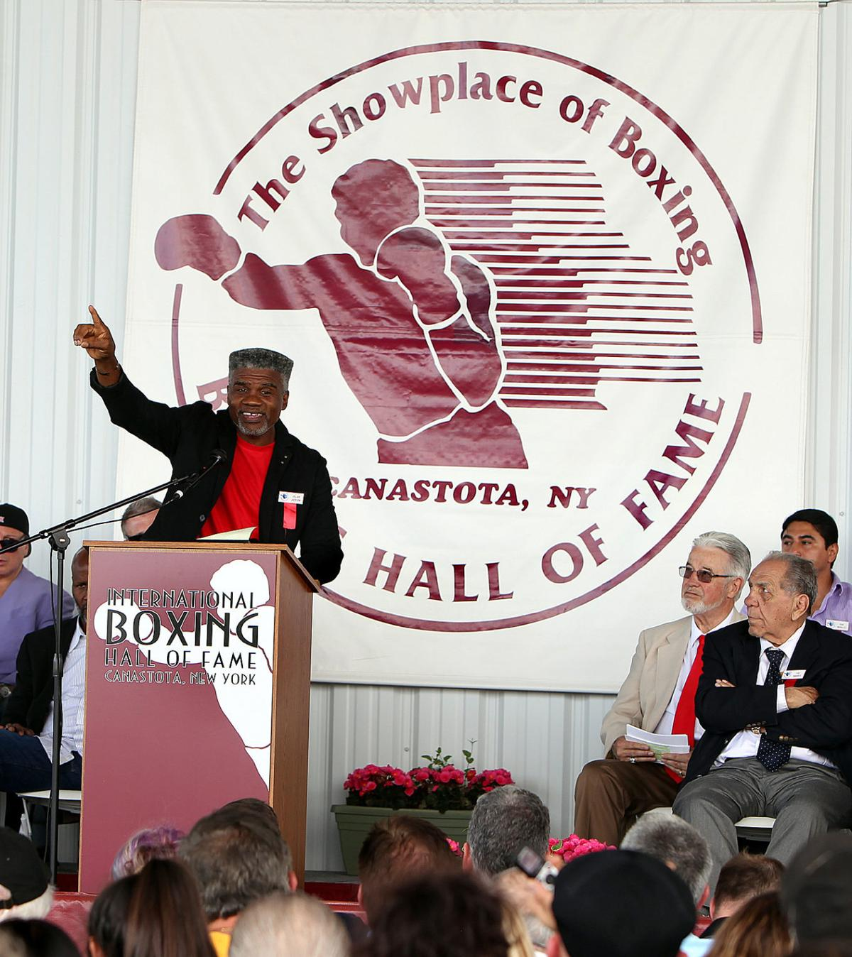Julian Jackson International Boxing Hall of Fame 03