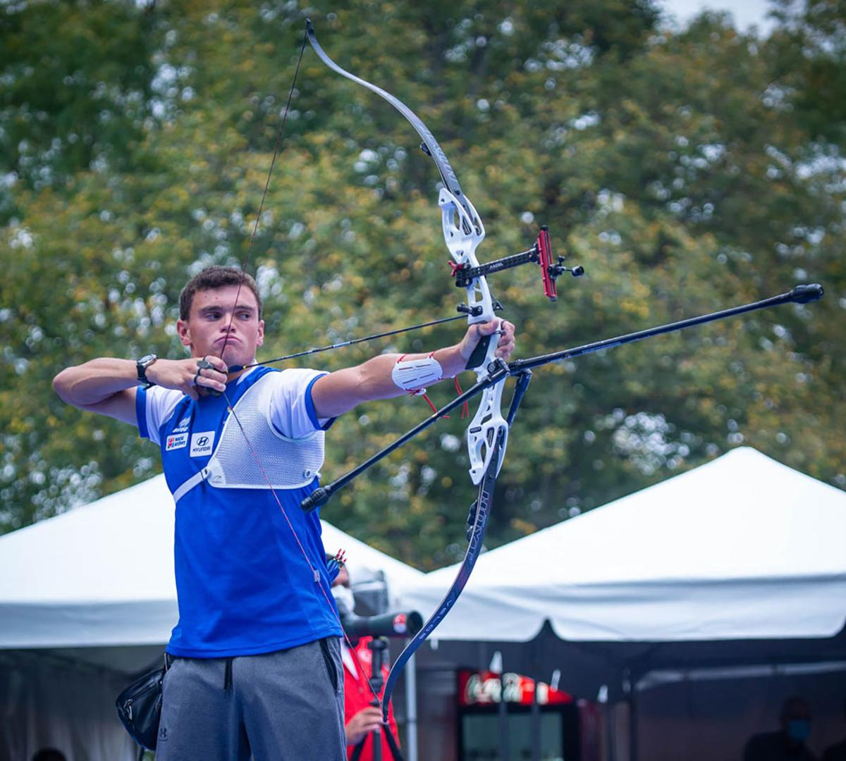 D'Amour at Archery World Cup Finals 2