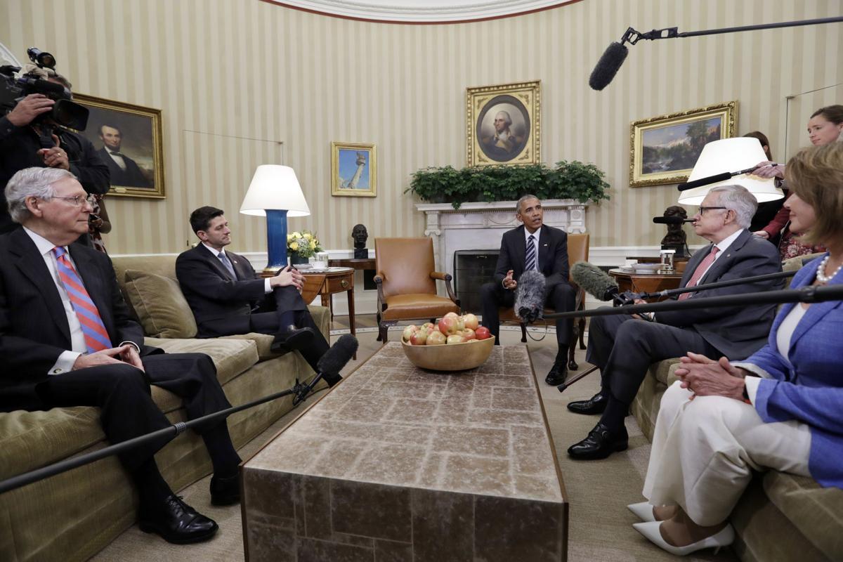 Obama, McConnell strike hopeful tone on budget, Zika   Ap