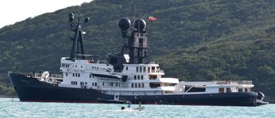 Noted motor yacht anchored in St  Thomas | News
