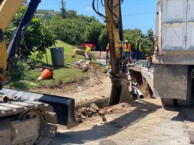 Utility work halted after burials disrupted in 1954 are uncovered in Cruz Bay