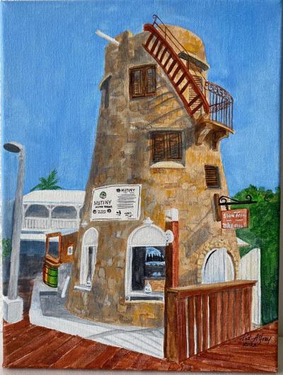 Sion Farm Distillery Art Exhibit