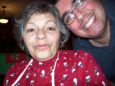 Mom E Lee with Tom-E