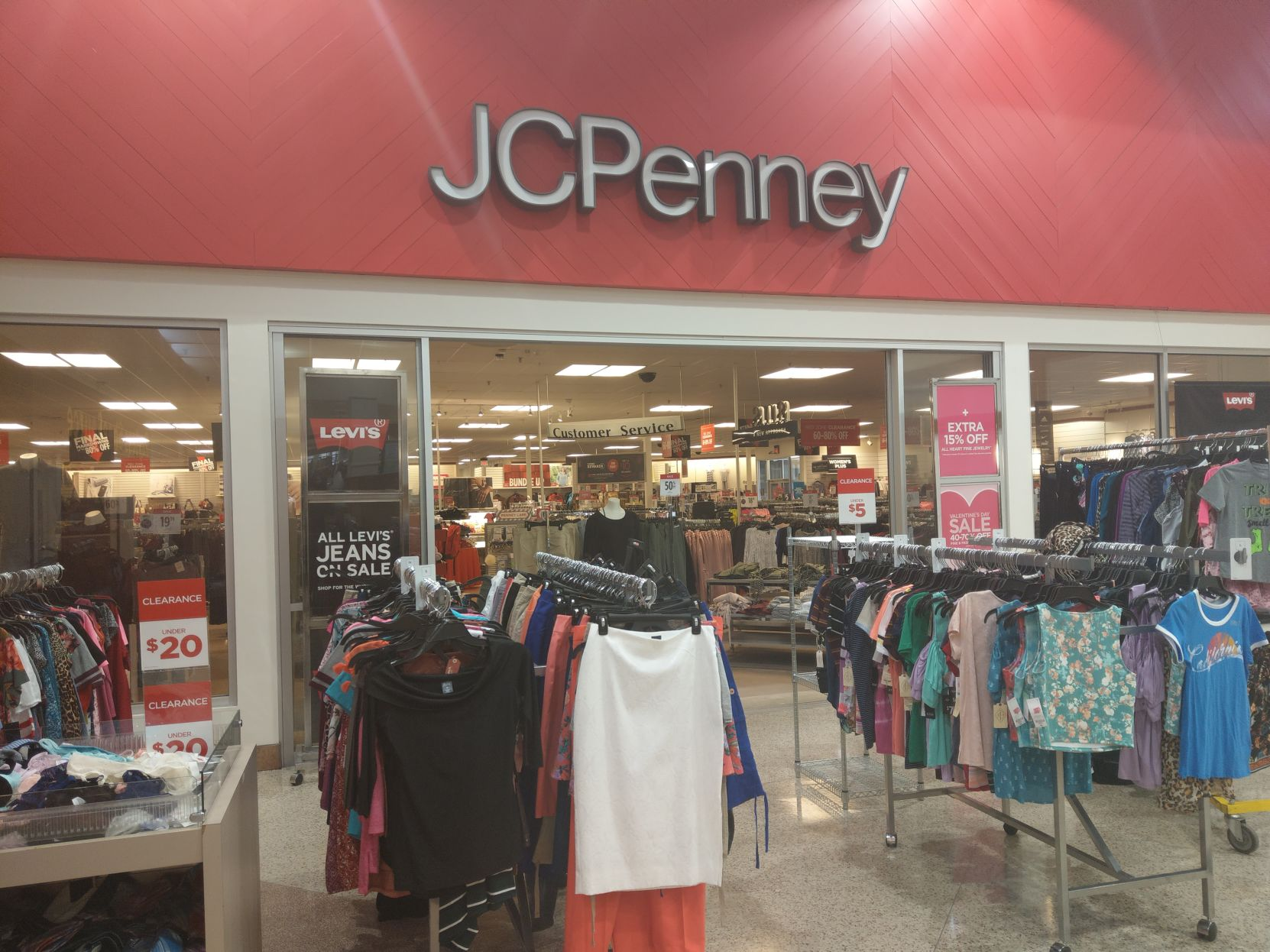 jcpenney customer service number