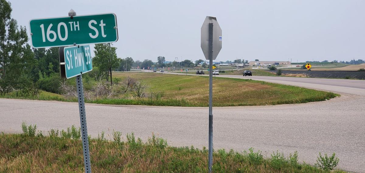 160th Street on Highway 55- Glenwood