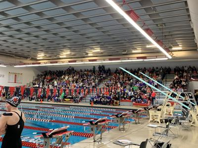 Full House for Section 6A Girls' Swimming