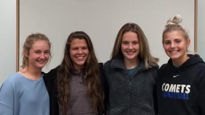 Hallee Anderson, Sidney Drew, Hadlee Hansen, and Summer Gerhardt