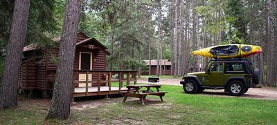 Bert's Cabins at Itasca State Park