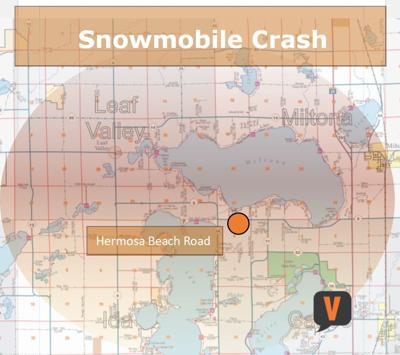 Snowmobile Crash