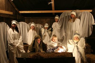 """First Lutheran Church Presents """"The Living Nativity"""""""