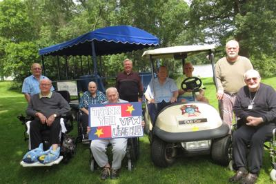 New Golf Cart for Residents at Ecumen Bethany