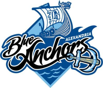 Alexandria Blue Anchors
