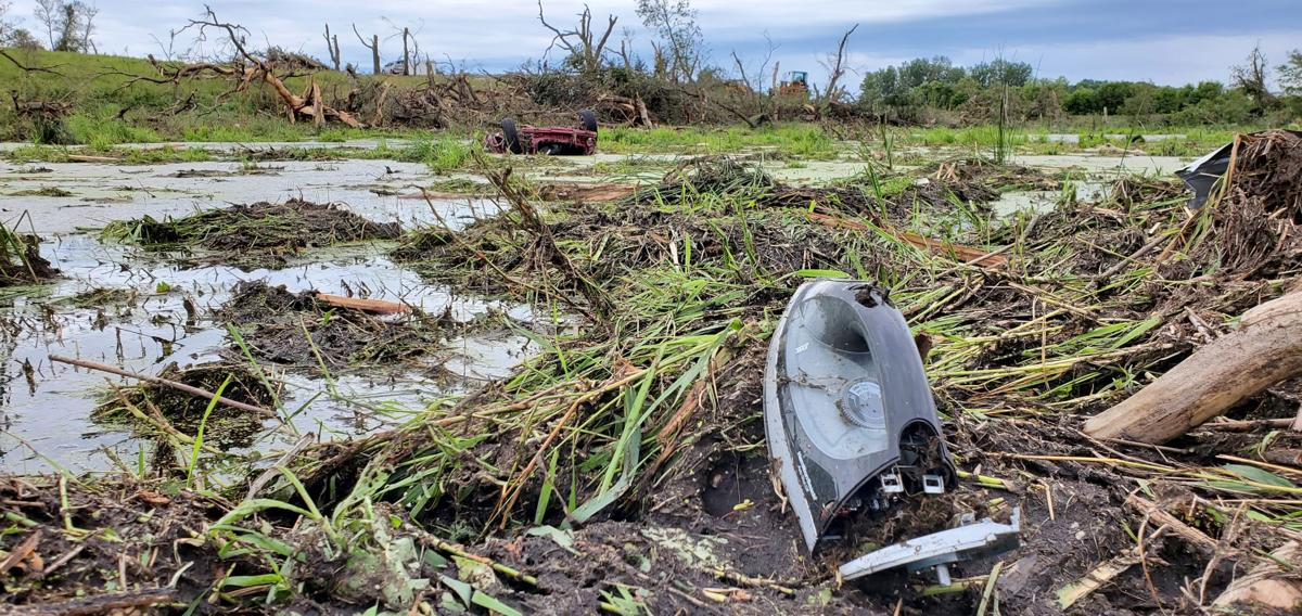 Items scattered from Klimek home near Dalton