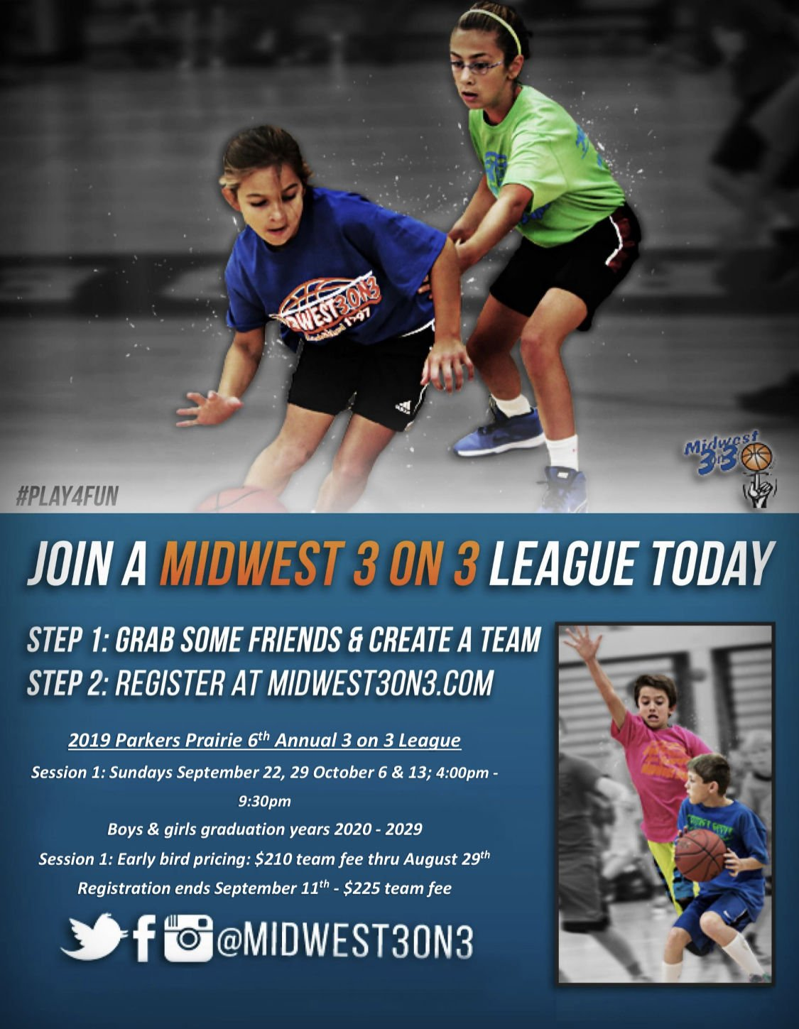 3 on 3 Youth Basketball