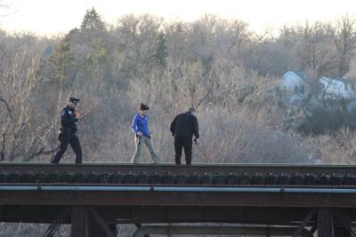 Police Searched for Dady Near Railroad Bridge