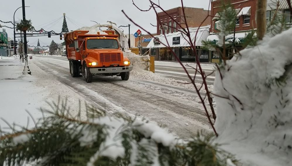 Snow Removal Along Broadway