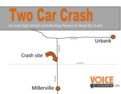 Two Car Crash Near Millerville | Local News
