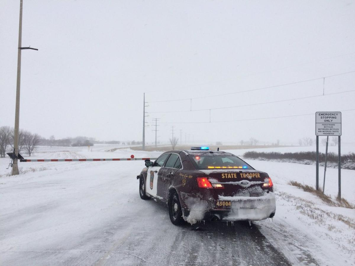 Interstate 94, portions of Highway 10 closed in west central