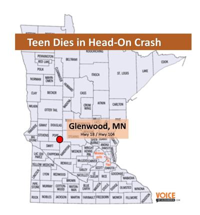 Starbuck Teen Dies in Head-on Crash