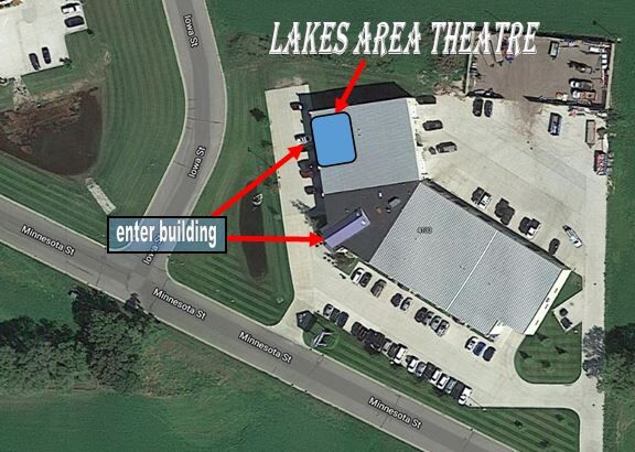 Lakes Area Theatre - from above
