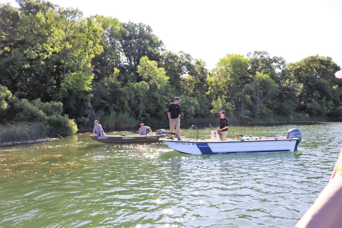 Flowering Rush treatment on Grant Lake