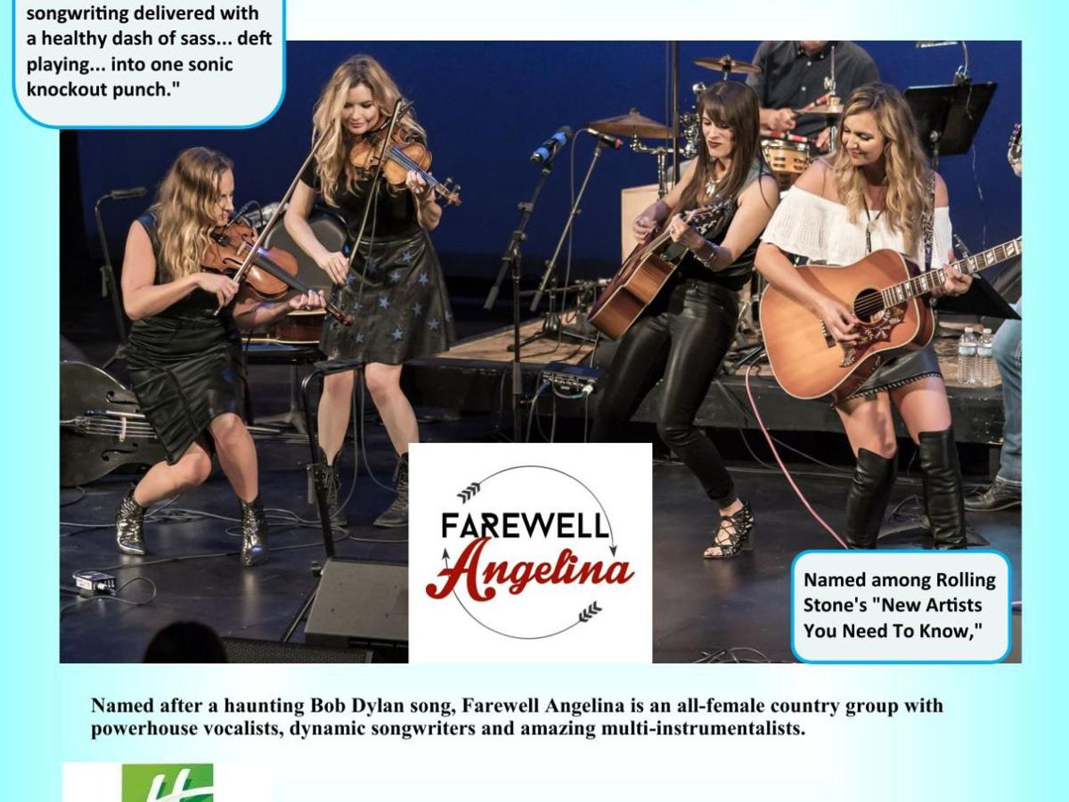Tickets Available for Farewell Angelina Performance