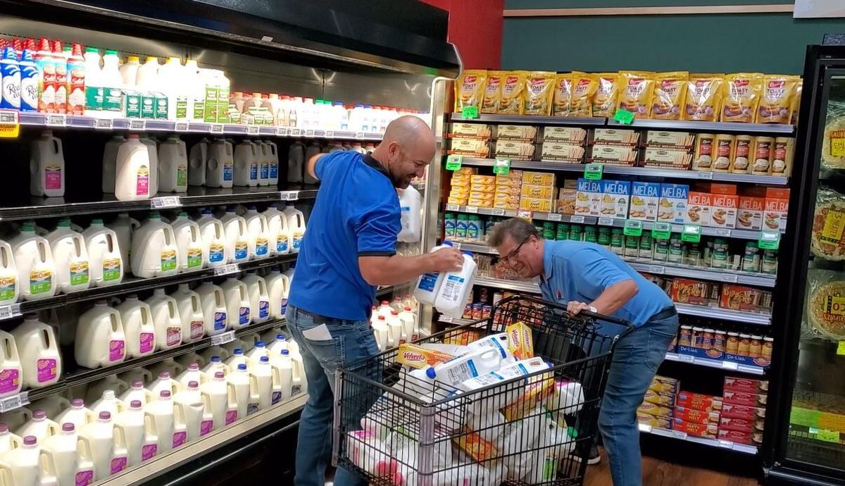Teams compete in 2021 Grocery Run