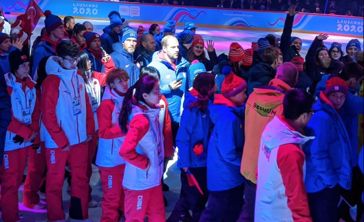 Kaisa in Opening Ceremonies
