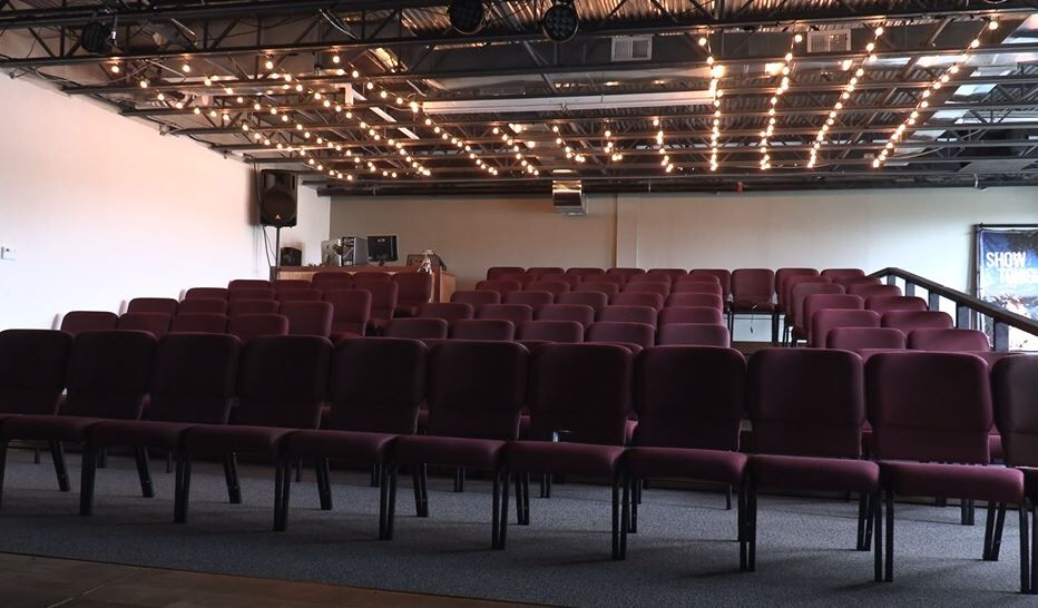 New Lakes Area Theatre seating