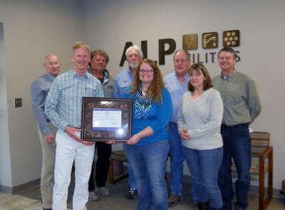 ALP Utilities honored