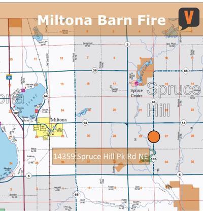 Miltona Barn Fire