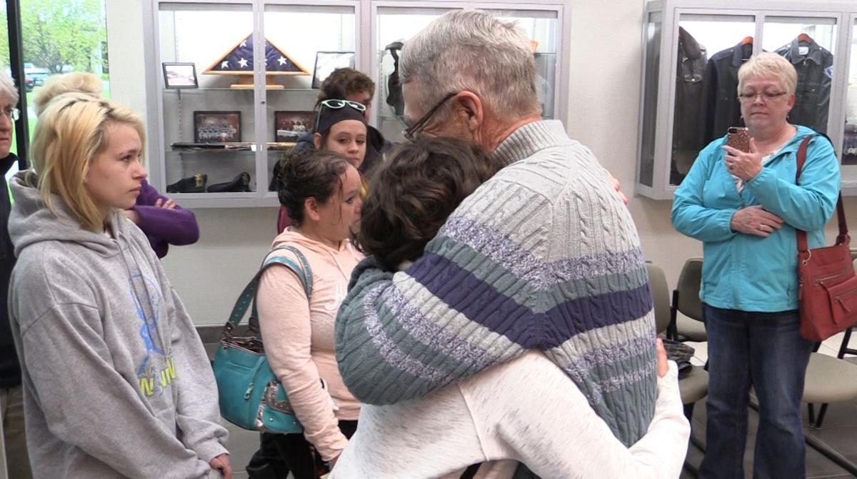 Rescuer gives Block family reward money