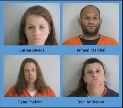Task force arrests four on Tuesday   Local News   voiceofalexandria com