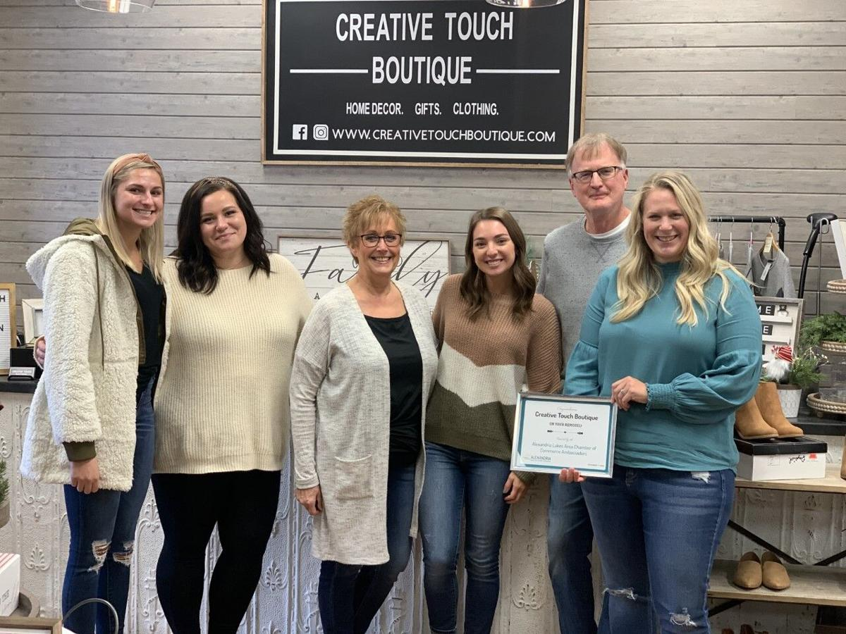 Chamber Ambassadors Recognize Creative Touch