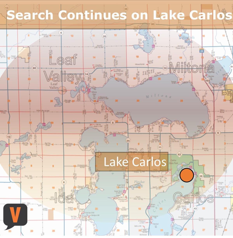 Drowning on Lake Carlos