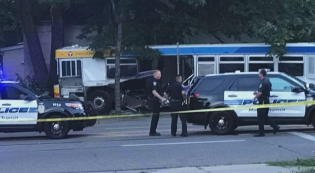 Driver in St. Paul Bus Crash Charged with Criminal Vehicular Homicide