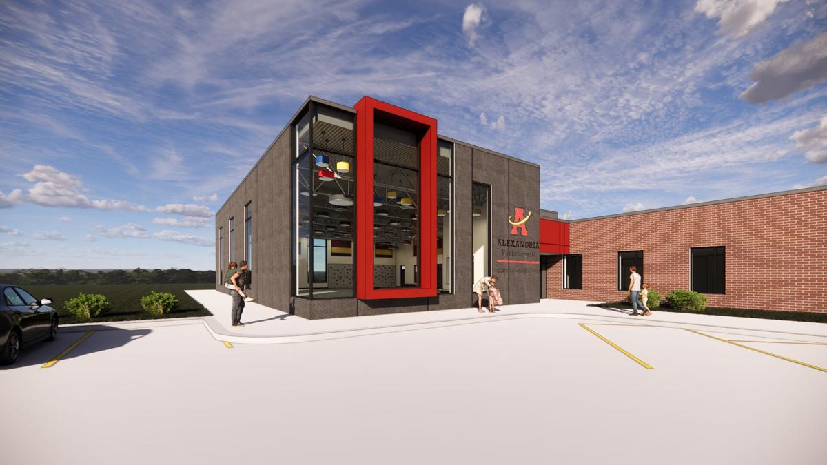 Proposed addition to the Early Education Center at Woodland Elementary School