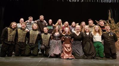"""""""Antigone and Ismene""""cast and crew"""
