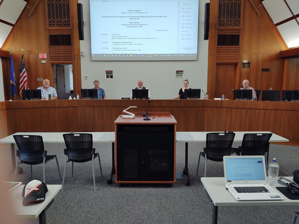 Douglas County Board meets in the new chambers