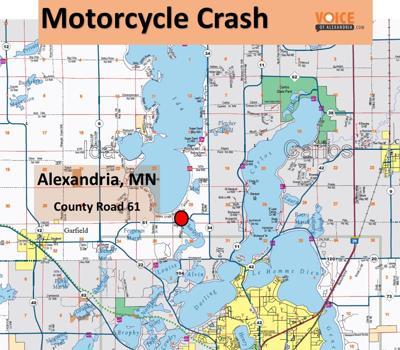 Motorcycle Crash on Hwy 61