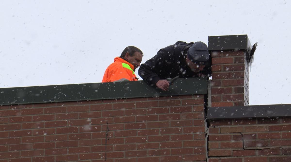 Inspectors access building strength