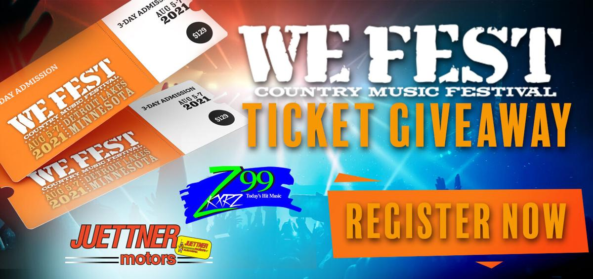 WE FEST '21 Ticket Giveaway