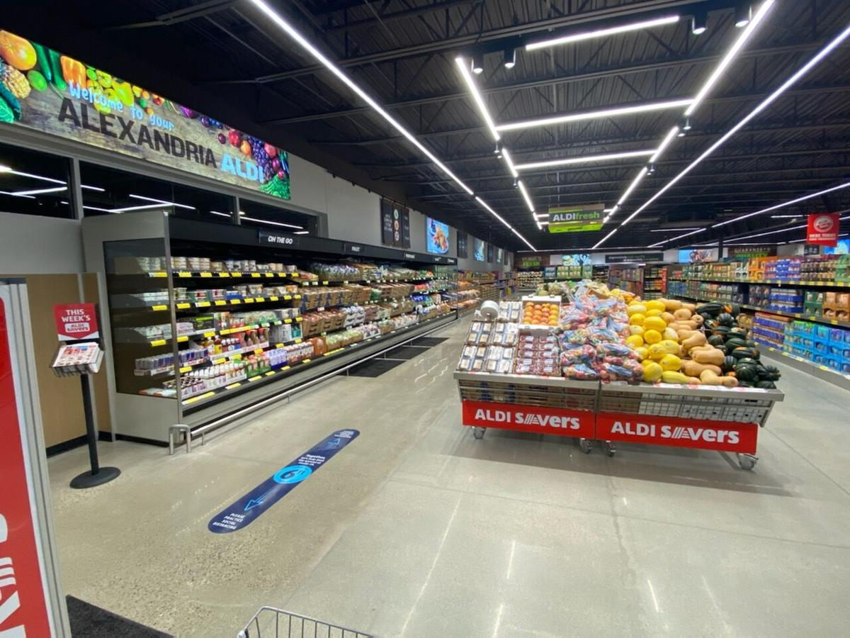 Alexandria ALDI store has a new look